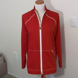 Allison Daley red light weight coat size 12